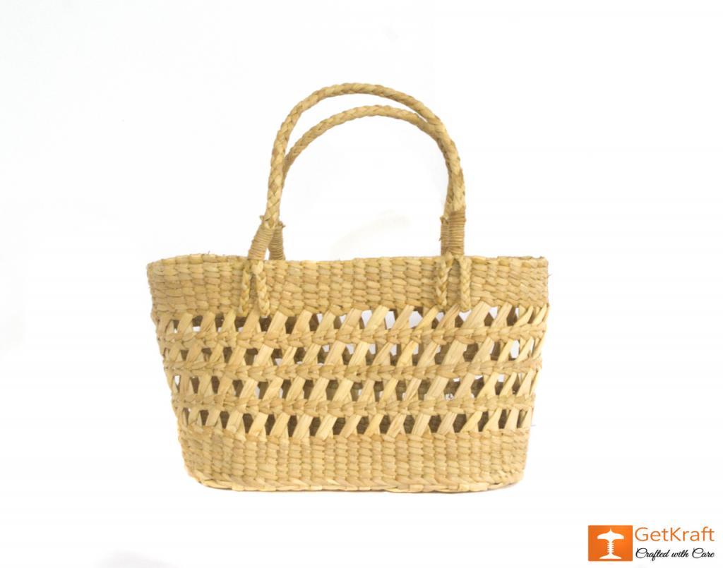 Kauna Handcrafted Net Basket(#433)-gallery-1
