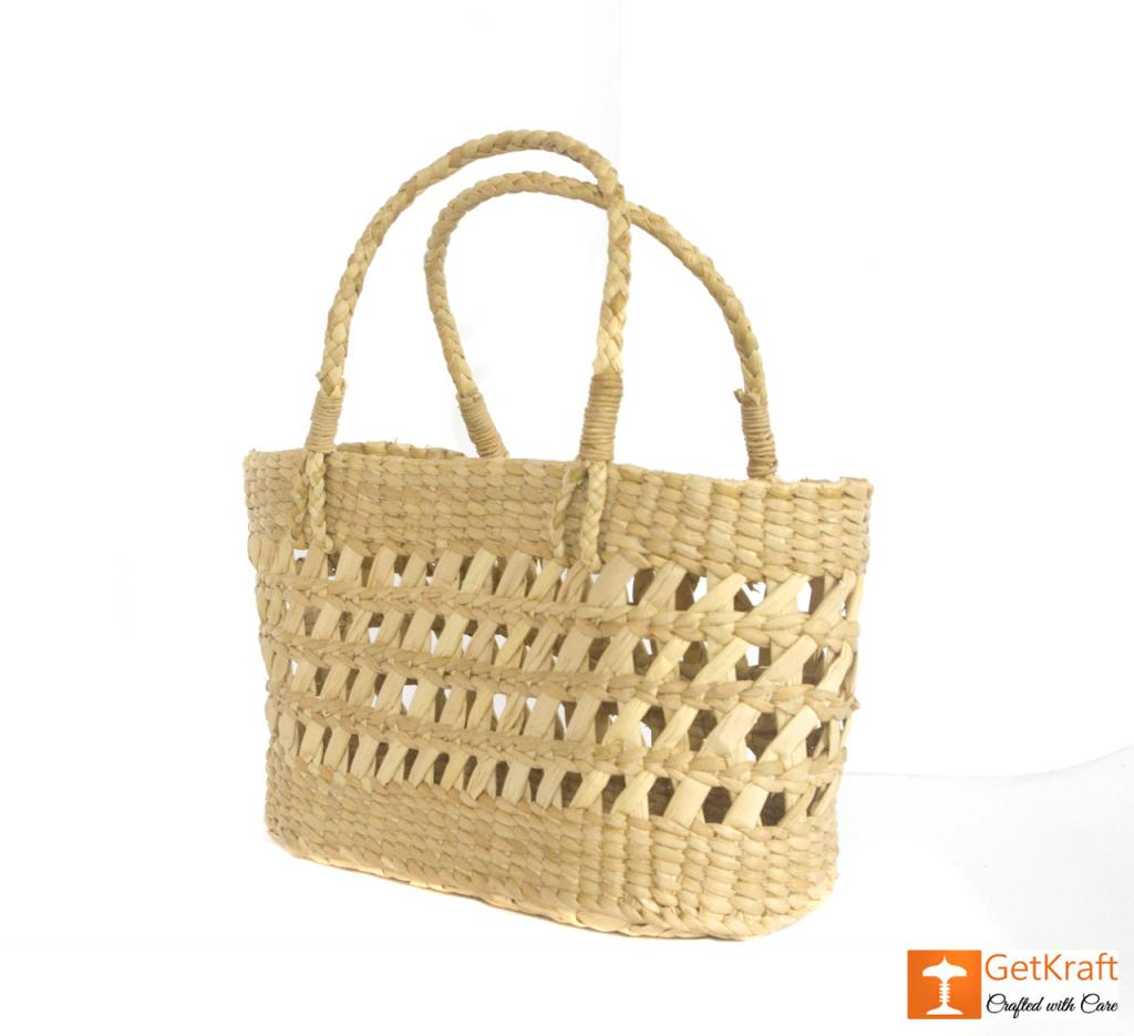 Kauna Handcrafted Net Basket(#433)-gallery-2