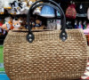 Natural Straw Handmade Oval shaped bag(#437) - getkraft.com