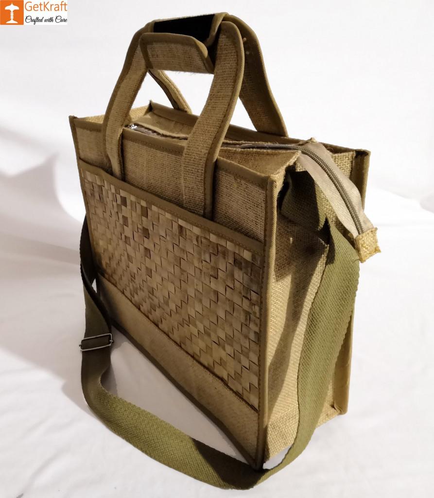 Jute Natural Straw Handbag(#452)-gallery-1