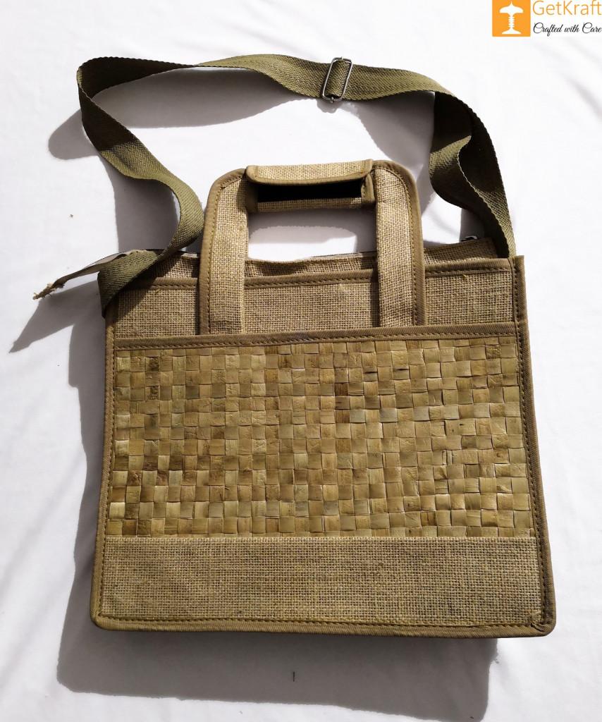 Jute Natural Straw Handbag(#452)-gallery-2