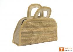Jute Water Hyacinth Hand bag(#457) - getkraft.com