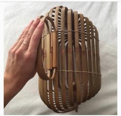 Bamboo Gaia Handbag(#460) - getkraft.com