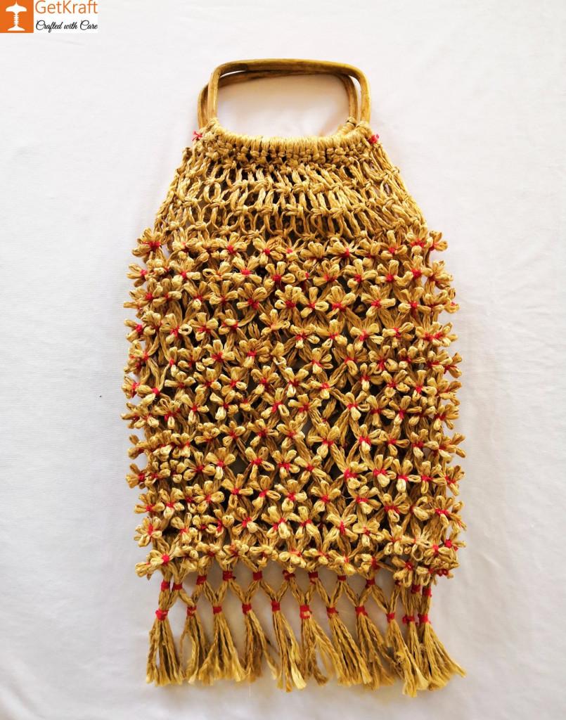 Jute Designer Handbag(#467)-gallery-1
