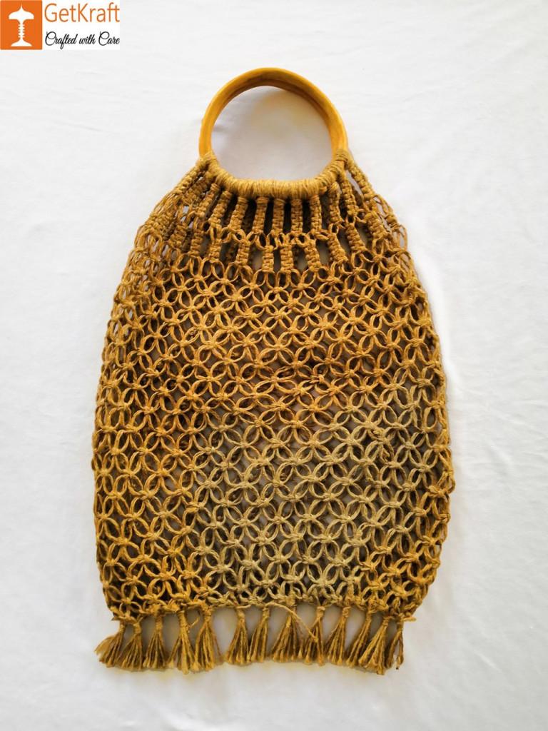 Jute Designer Handbag(#467)-gallery-3