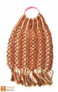Jute Designer Handbag(#469) - getkraft.com