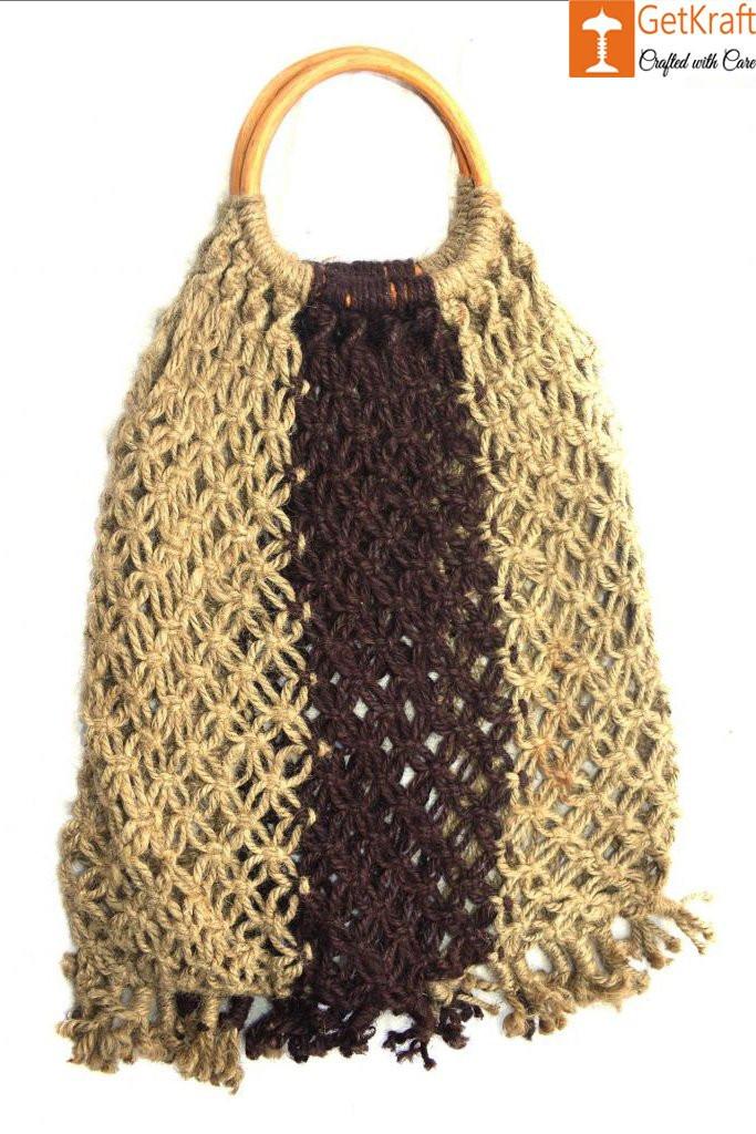 Jute Designer Handbag(#470)-gallery-0
