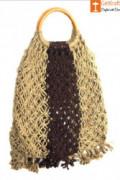 Jute Designer Handbag(#470) - getkraft.com
