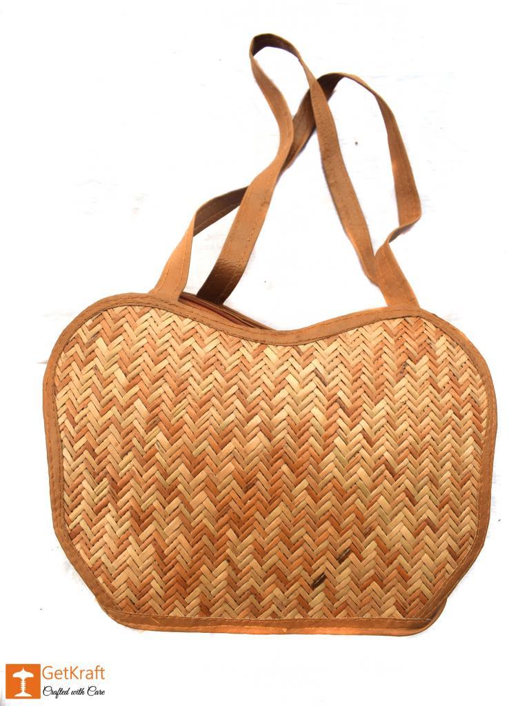 Sitalpati Medium-sized Handmade Bag(#483)-gallery-1