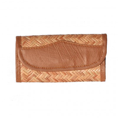 Sitalpati Handmade Clutch with patterned design(#485)-gallery-0