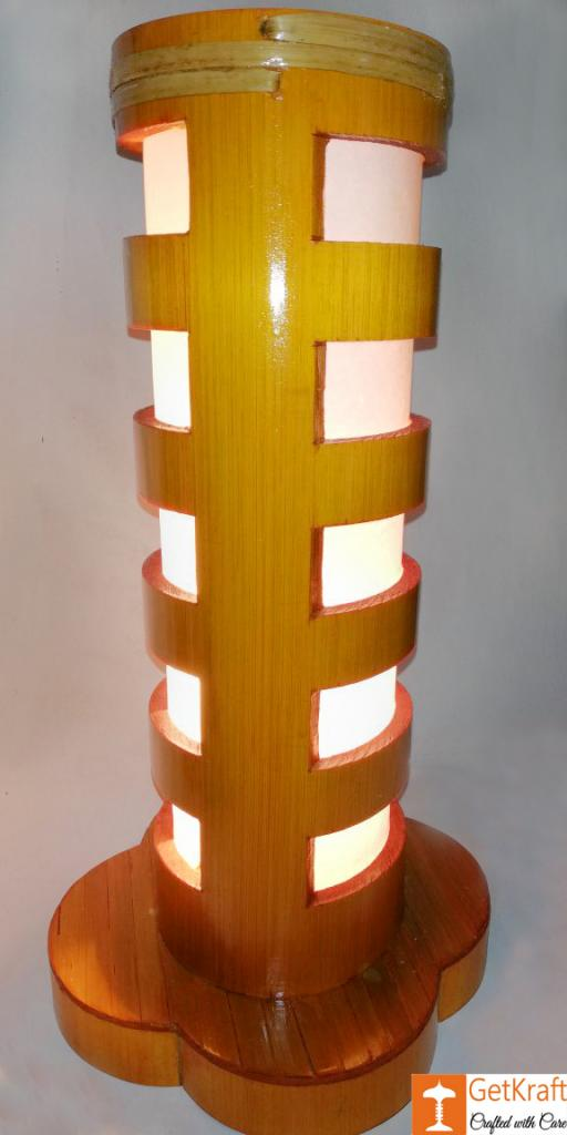 Bamboo Lamp(#489)-gallery-0