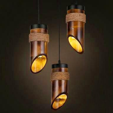 Bamboo Lamp(#494)-gallery-0
