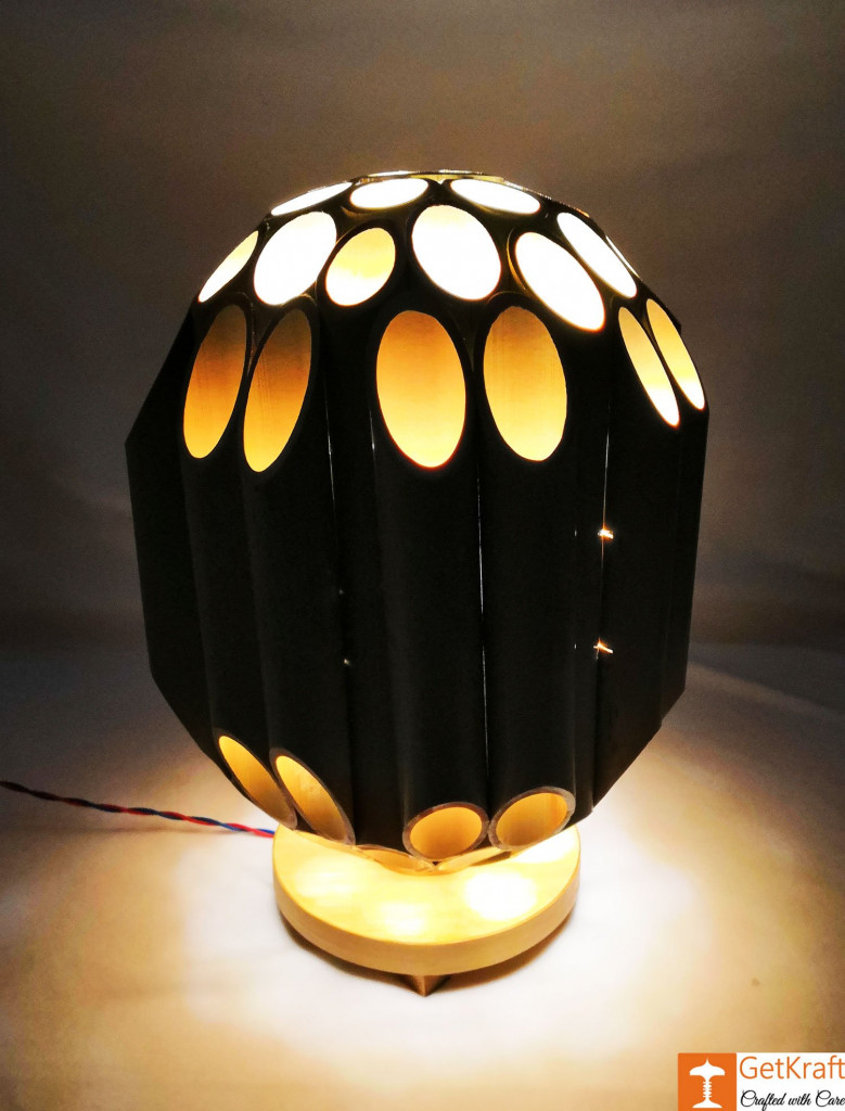 Bamboo Lamp(#495)-gallery-0