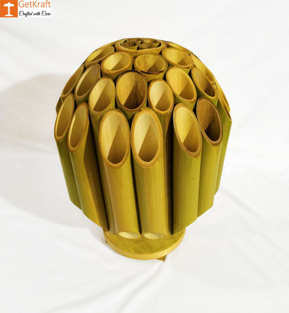 Bamboo Lamp(#495)-gallery-1