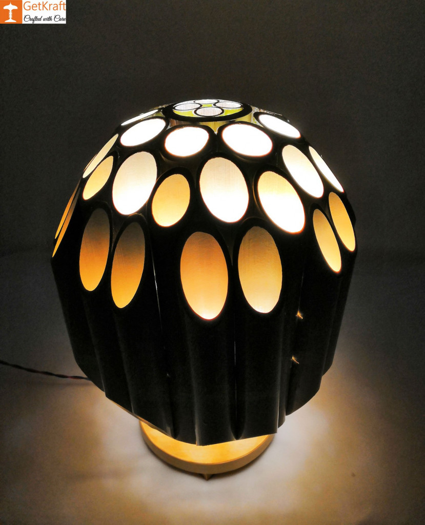Bamboo Lamp(#495)-gallery-3