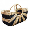 Extra Large Natural Straw Handbag with large handle(#523) - getkraft.com