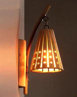 Bamboo Lamp(#536)-gallery-0