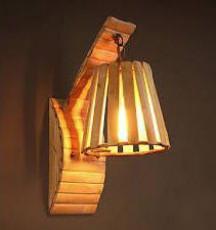 Bamboo Lamp(#538)-gallery-0