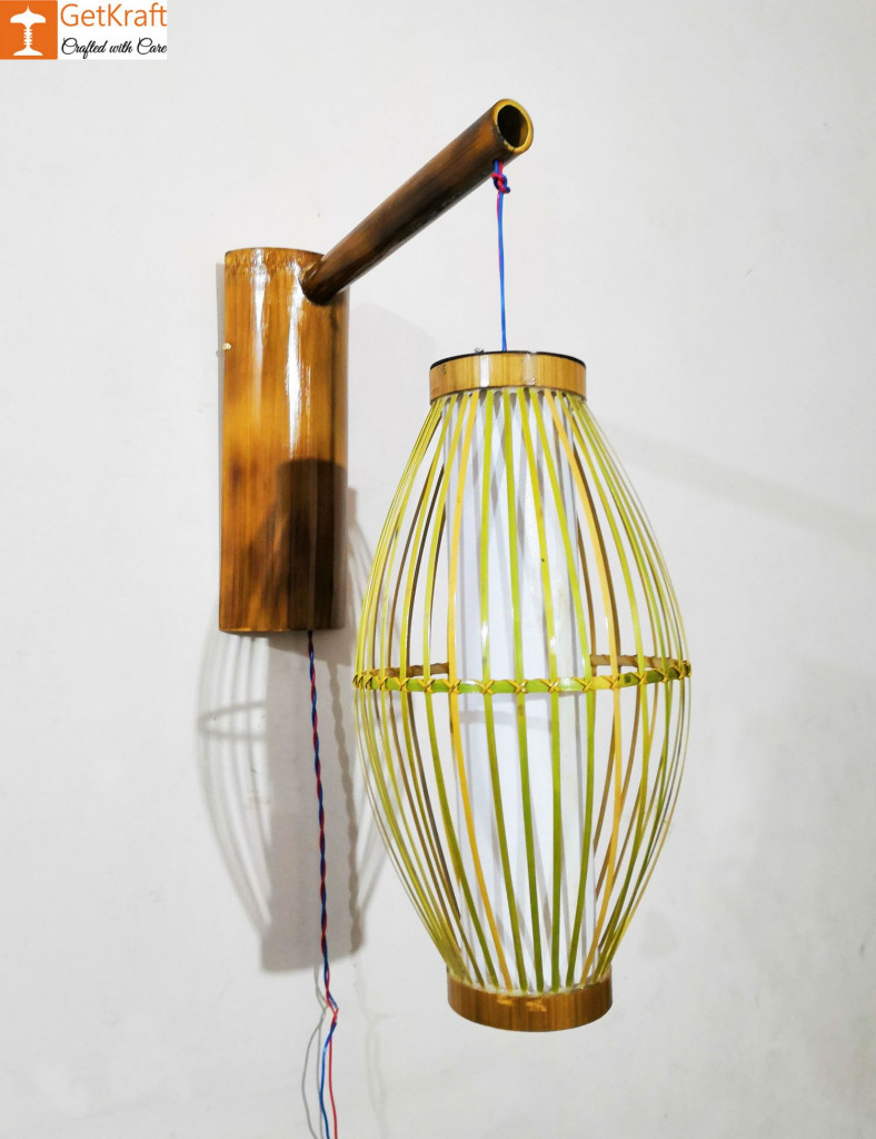 Bamboo Lamp(#541)-gallery-1