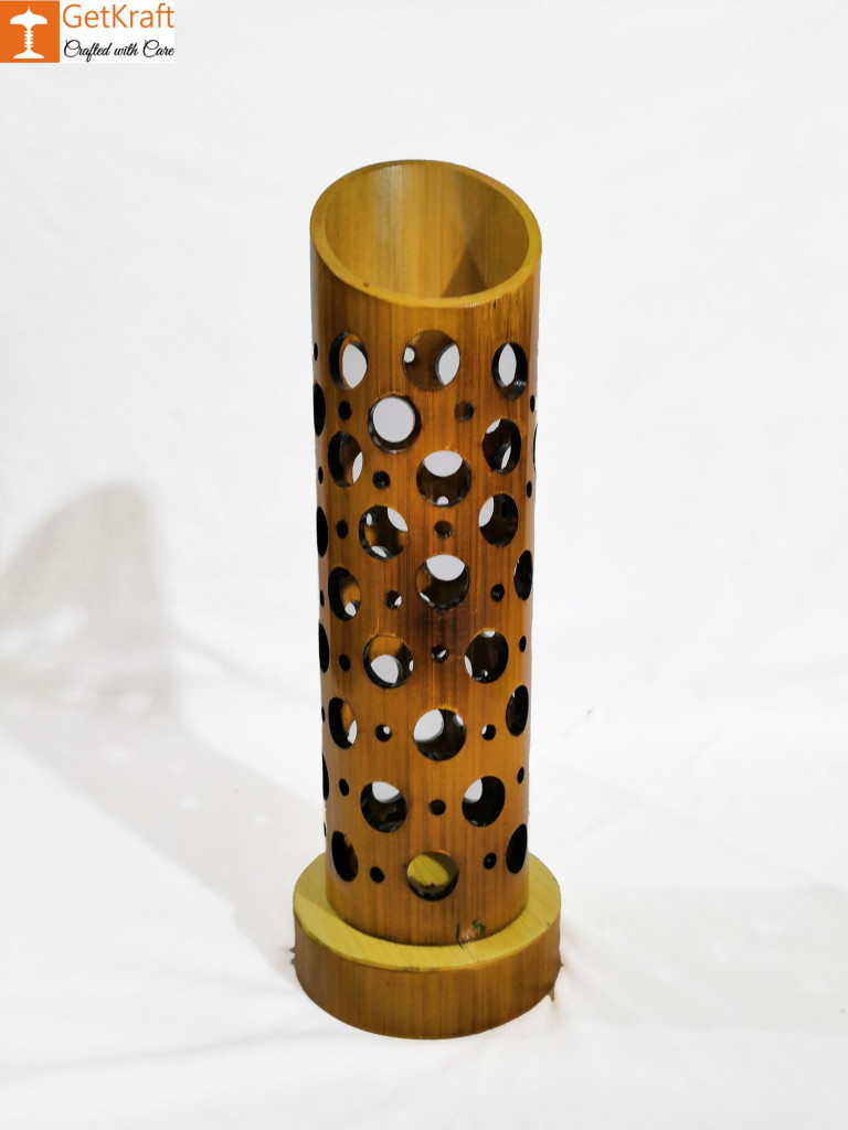 Bamboo Lamp(#543)-gallery-1