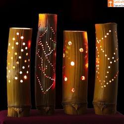 Bamboo Lamp(#545) - getkraft.com