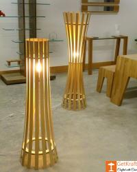 Bamboo Lamp(#553) - getkraft.com