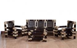 Stylish Bamboo Sofa Set with Table for Living room(#555) - getkraft.com