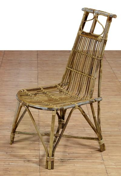 Cane Handmade Indoor Outdoor Chair(#556)-gallery-0