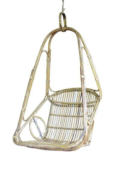 Good Quality Cane Hanging Chair(#557)-gallery-0
