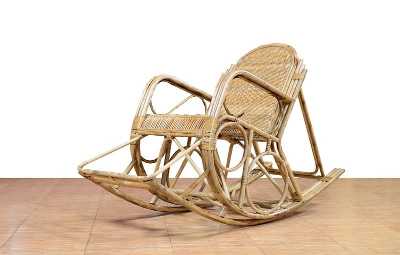 Cane Rocking Chair(#570)-gallery-0
