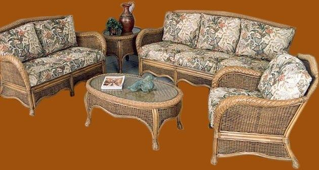 Classic Cane Sofa Set from Assam(#573)-gallery-0