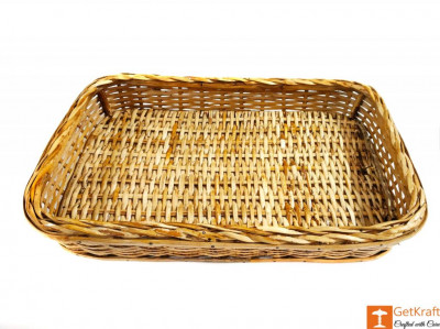 Elegant Cane Ethnic Serving Tray(#595)-gallery-0
