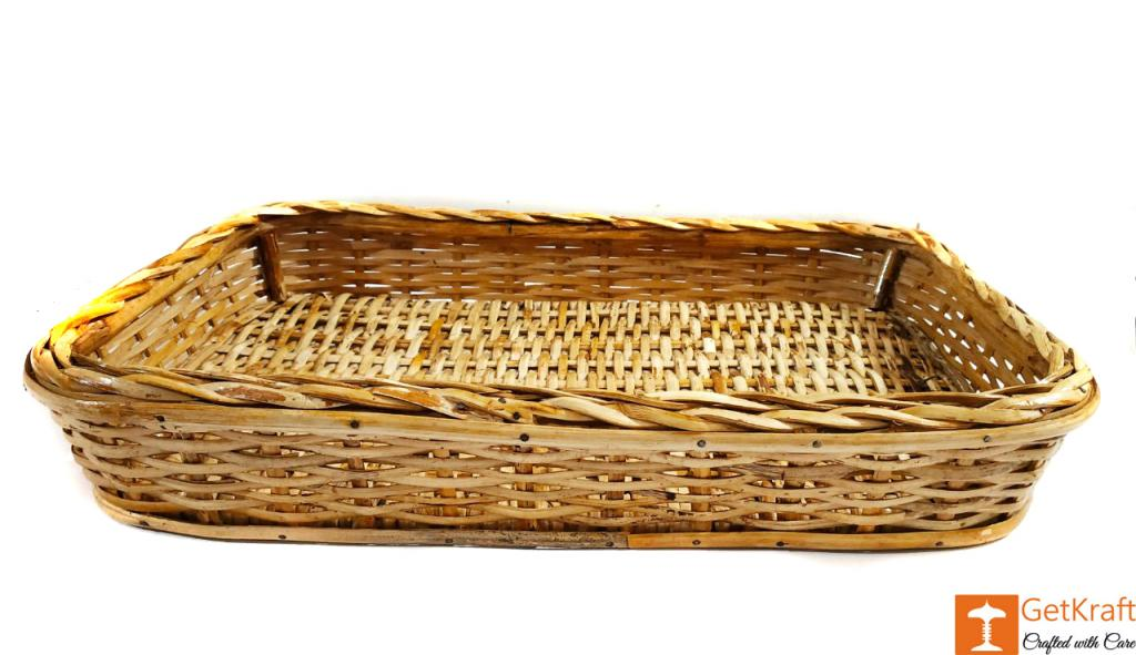 Elegant Cane Ethnic Serving Tray(#595)-gallery-2