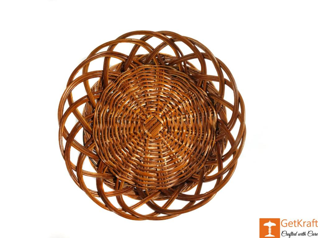 Wicker Designer Fruits Tray(#596)-gallery-0