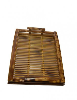 Handcrafted Bamboo Serving Tray(#601)-gallery-0