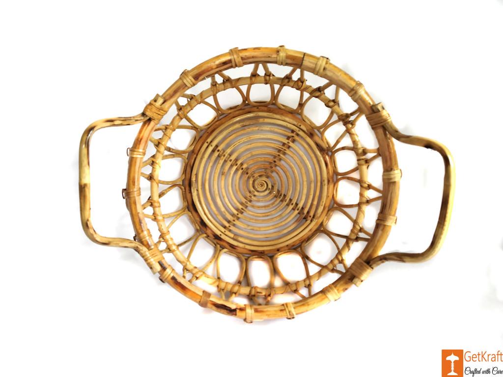 Multipurpose Cane Basket - Laundry Basket - Home Decor Basket(#610)-gallery-1