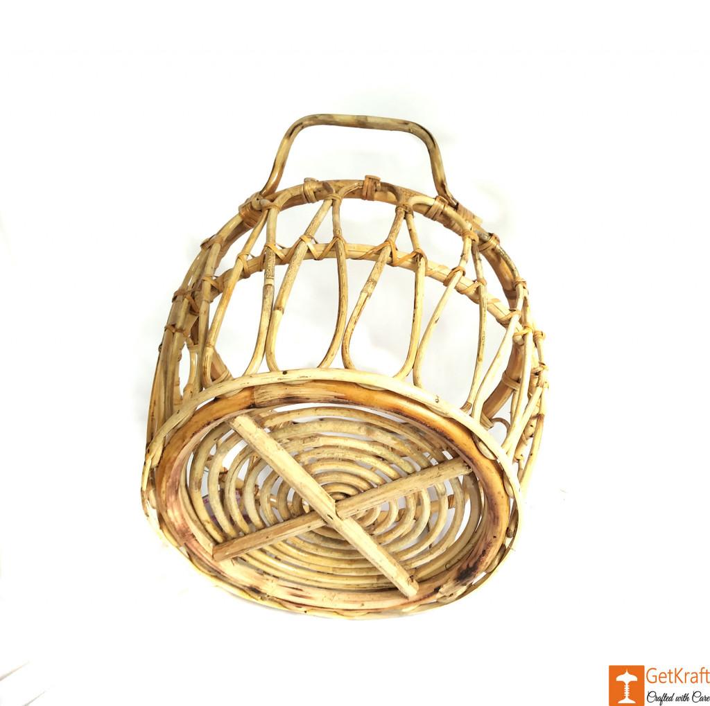 Multipurpose Cane Basket - Laundry Basket - Home Decor Basket(#610)-gallery-2