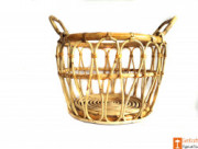 Multipurpose Cane Basket - Laundry Basket - Home Decor Basket(#610) - getkraft.com