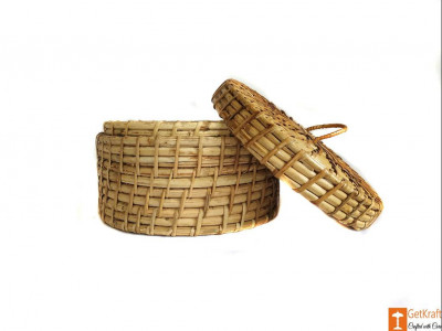 Cane Box for Jewellery (medium)(#611)-gallery-0