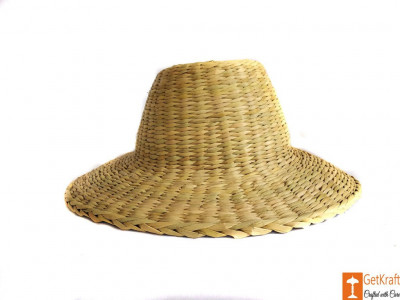 Natural Straw Casual Hat Unisex(#619)-gallery-0