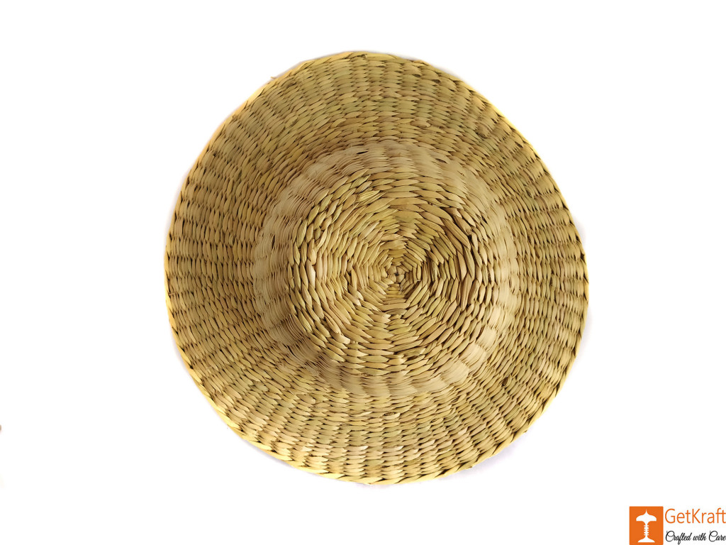Natural Straw Casual Hat Unisex(#619)-gallery-1