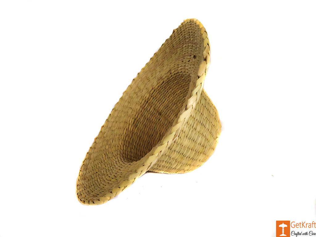 Natural Straw Casual Hat Unisex(#619)-gallery-2