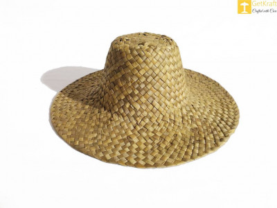 Attractive Natural Straw Hat - Unisex(#622)-gallery-0