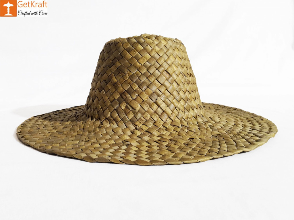 Attractive Water Hyacinth Hat - Unisex(#622)-gallery-1