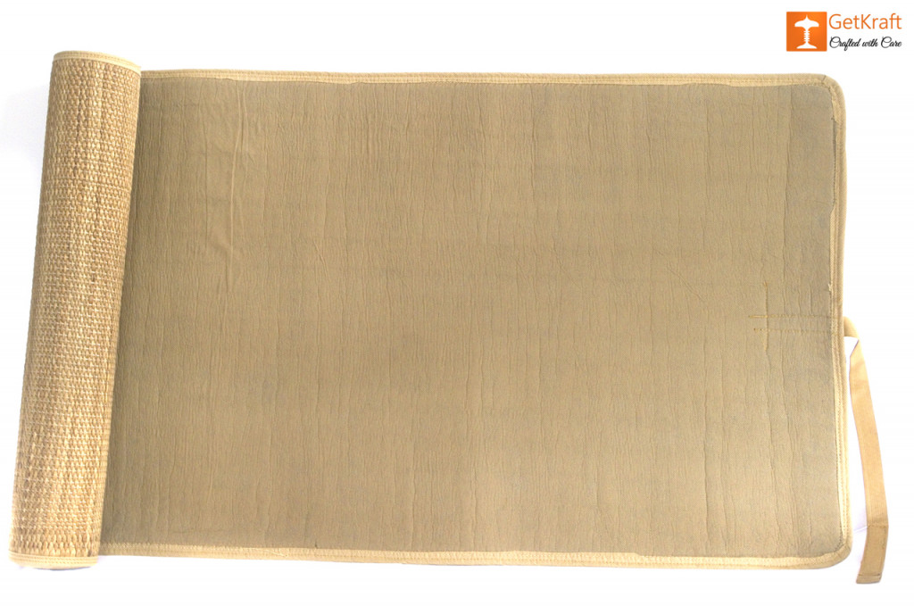 Natural Straw Mat with straight ends(#629)-gallery-3