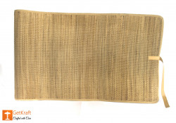 Natural Straw Mat with straight ends(#629) - getkraft.com