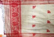 Assamese Gamosa (Pat Silk)(#632) - getkraft.com