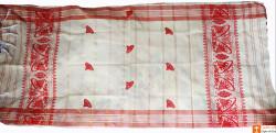 Assamese Gamosa (Pat Silk) - Imprinted Mini Jaapis(#633) - getkraft.com