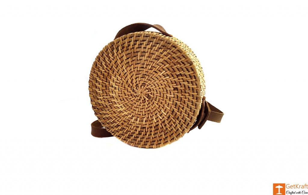 Cane Leather Designer Sling Bag(#638)-gallery-4