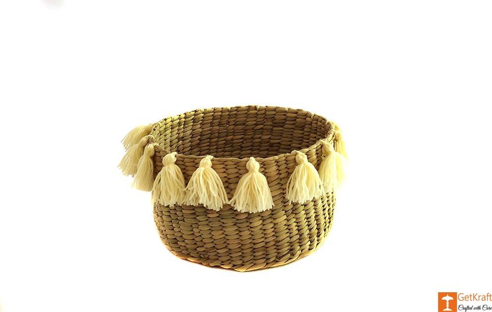 Kauna Handmade Laundry Basket(#639)-gallery-0